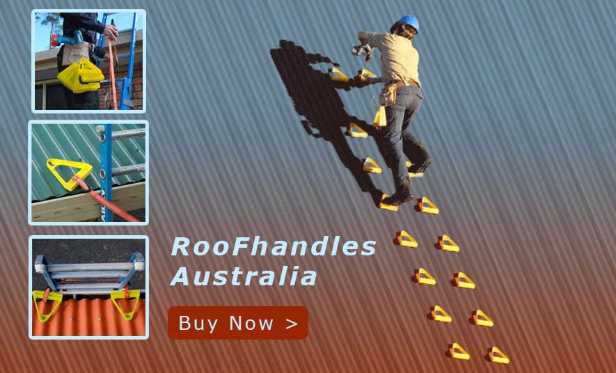 Roof Handles - Ladder Alternative for climbing roofs